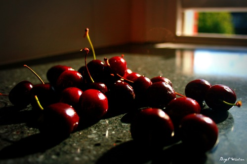Cherries and Window
