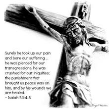 Good Friday ~ Isaiah 53.4-5